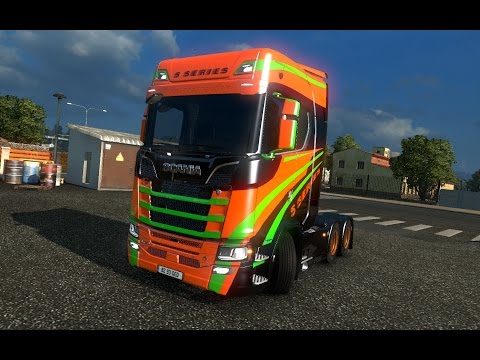 The new Scania S for euro truck 1.26,