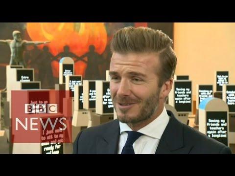 David Beckham: I wasn't world-class - BBC News
