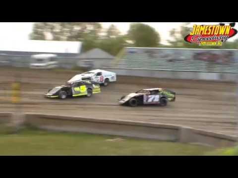 Jamestown Speedway WISSOTA Midwest Modified Heats (8/18/18)