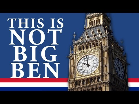 London Facts You Didnt Know ► This Is Not Big Ben