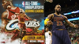 LeBron Passes Jordan All Time Playoff Scoring Leader! 7th Straight Finals!
