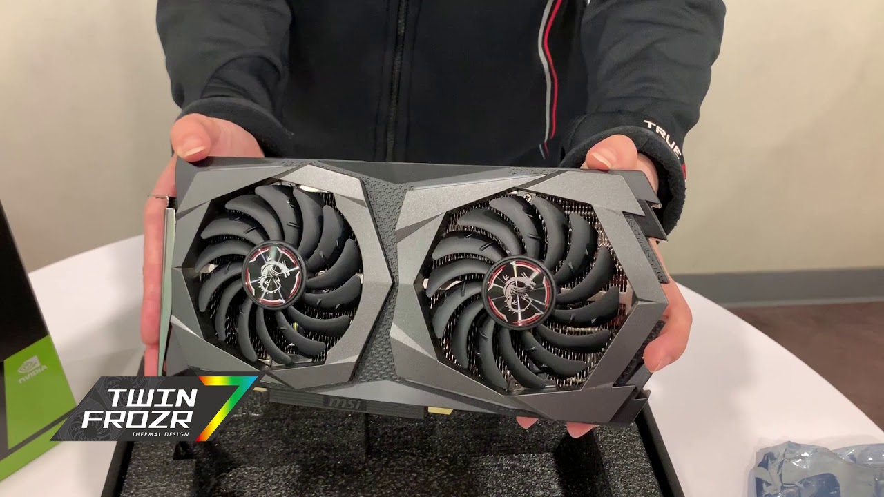 MSI GeForce® RTX 2060 SUPER™ GAMING X - UNBOXING