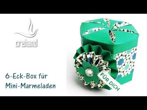 6 eckige box f r kleine geschenke mit crehand und stampin for Carola henke