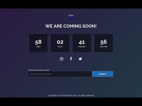 WordPress Coming soon plugin Tutorial 2018 – Create a Coming Soon Page For Your WordPress Website