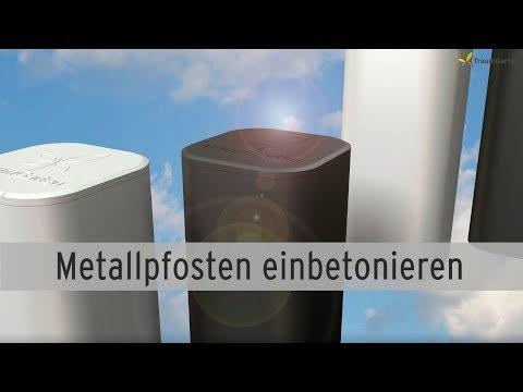 metallpfosten-für-sichtschutzzaun-einbetonieren-|-traumgarten