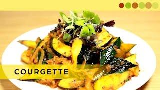 Courgette Salad | Gourmet - Healthy Salad | Chef Atul Kochhar