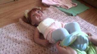 Eng.sub.Обзор куклы Munecas Antonio Juan, Инес и моя коллекция одежды для нее