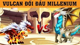 ✔️VULCAN ĐÁNH BẠI MILLENIUM !! - Dragon City Game Mobile Android, Ios #376