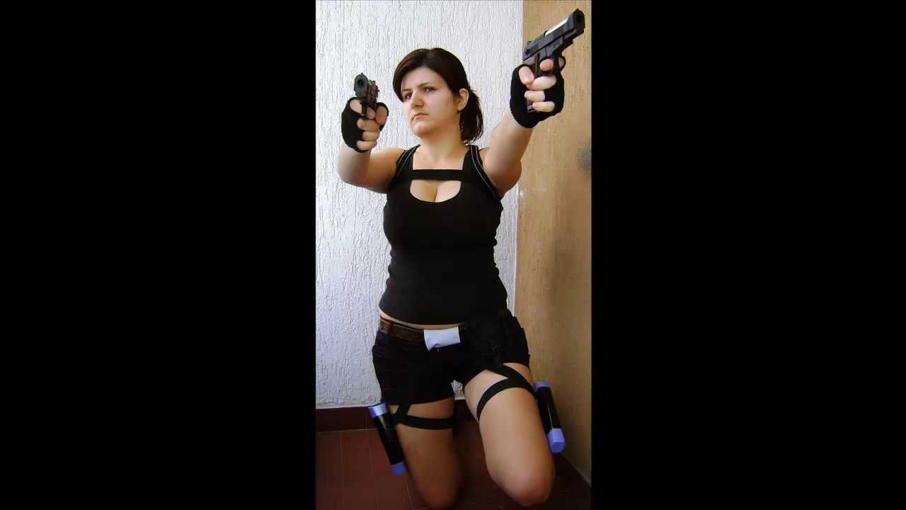 radmilarada7 pr sentiert lara croft halloween kost m youtube