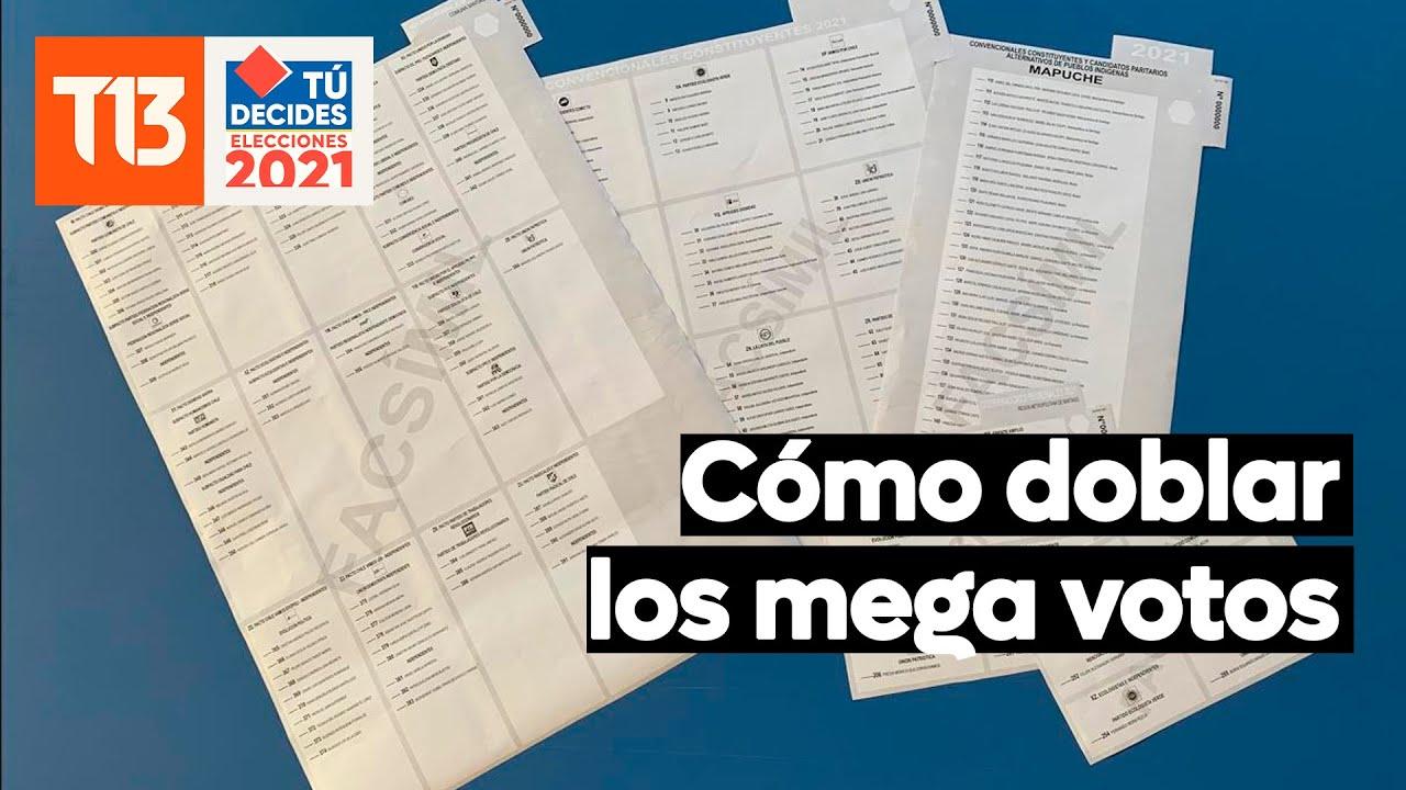 Elecciones Chile: Cómo doblar el voto este 15 y 16 de mayo
