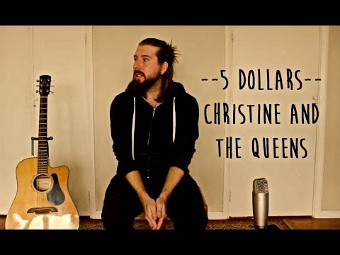 5 Dollars Guitar Lesson Tutorial With Chords Christine And The Queens
