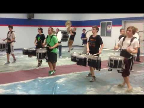 Harpeth High School Winter Drumline 2013 Movement I