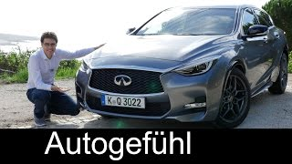 All-new Infiniti Q30 FULL REVIEW test driven Q30S 2.0t & Premium 2.2d - Autogefühl