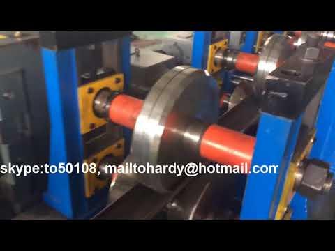 door rail roll forming machine, door rail forming line, door rail roll forming line