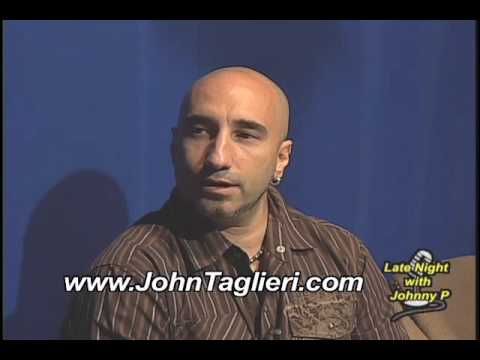 Late Night with Johnny P Show  John Taglieri Interview