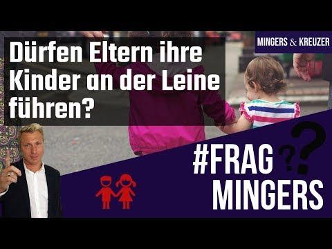 Dürfen Eltern ihre Kinder an der Leine führen? | #FragMingers