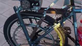 Велосипед с двигателем от бензопилы Конструкция 1(Велосипед с двигателем от бензопилы Конструкция 1 Кому интересно, подробности конструкции смотрите по..., 2013-03-06T20:43:20.000Z)