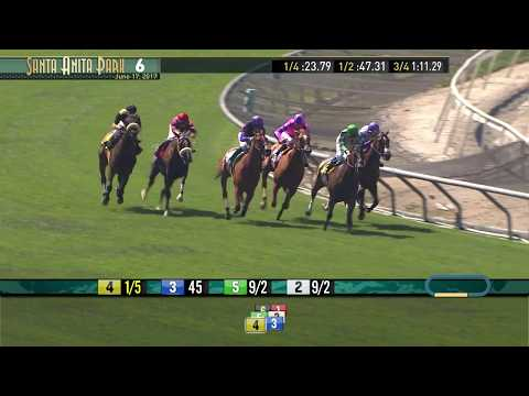 Honeymoon Stakes (Gr. II) - Cal-bred winner - June 17, 2017
