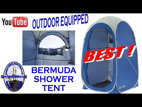 Outdoor Equipped Bermuda Popup Shower Tent - Camping Gear