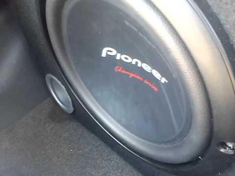 "subwoofer pioneer 10"""