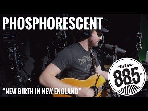 "Phosphorescent || Live @ 885FM || ""New Birth in New England"""