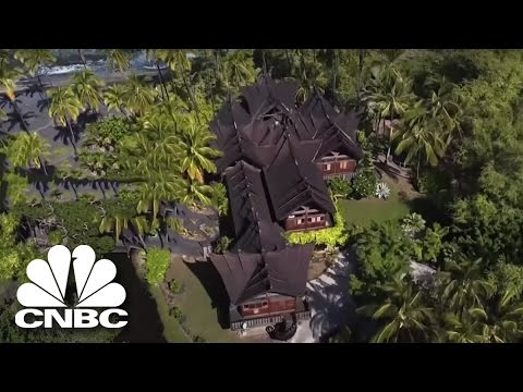 John Paul Dejoria's Secret Island Hideaway With Opium Beds   Secret Lives Super Rich   CNBC Prime