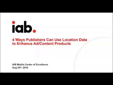 4 Ways Publishers Can Use Location to Enhance Ad/Content Products F