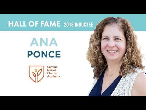 2018 Charter School Hall of Fame: Ana Ponce and Camino Nuevo Charter Academy