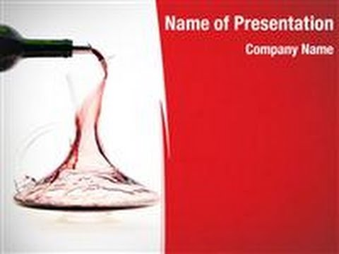 Carafe with wine powerpoint template backgrounds digitalofficepro carafe with wine powerpoint template backgrounds digitalofficepro 00308 toneelgroepblik Images