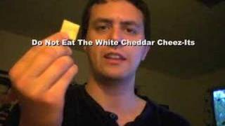 Do Not Eat The White Cheddar Cheez-Its