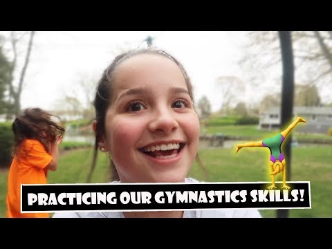 Practicing Our Gymnastics Skills 🤸( WK 381.7) | Bratayley