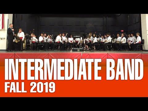 La Paz Intermediate Band - Fall Concert 2019