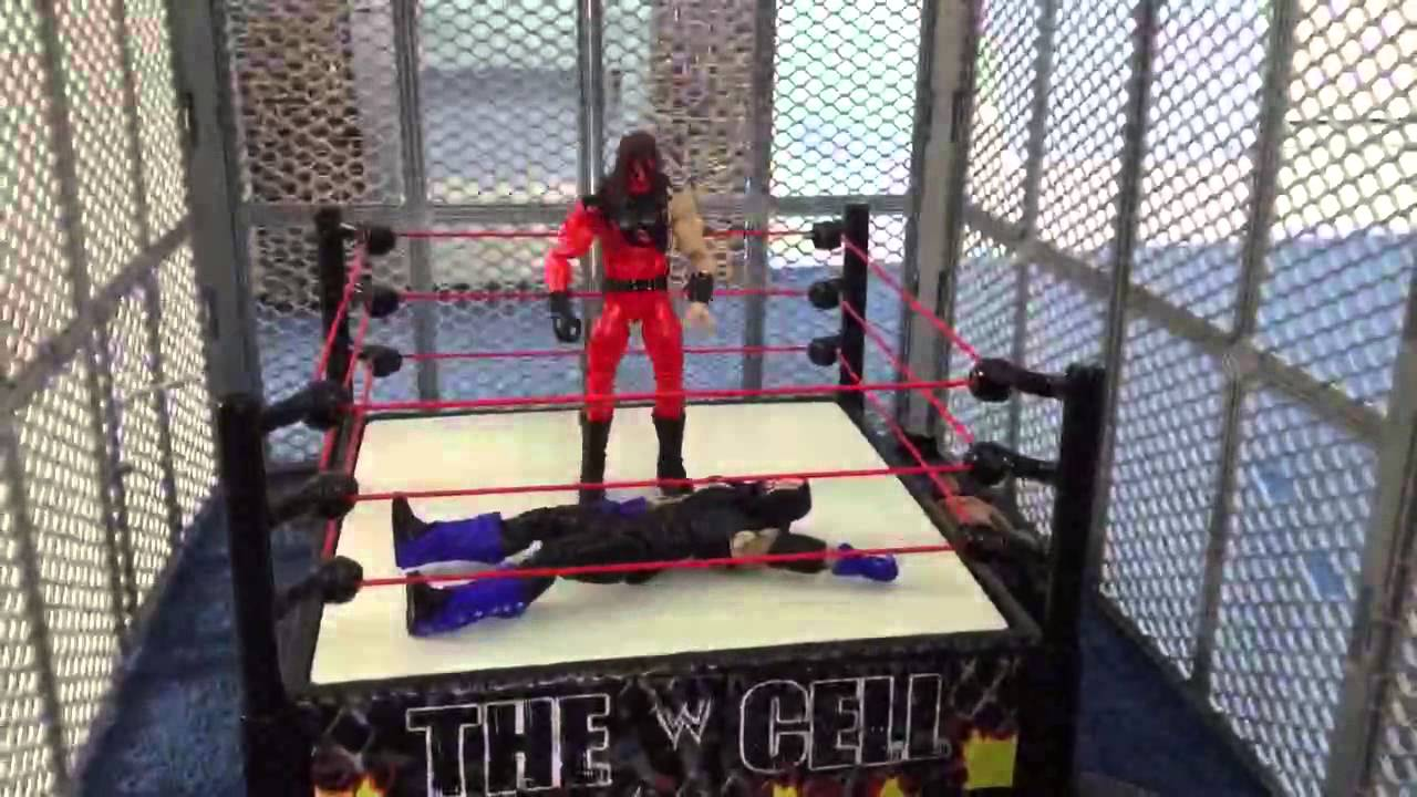 WWE Figure Animation HELL IN A CELL Part 1