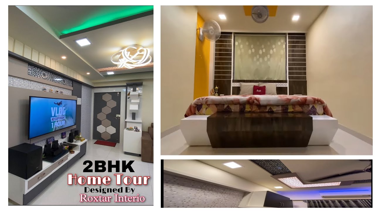 Mr.Mrs Chaudhari's 1000sqft 2 Bhk Home Tour , Project Designed By Roxtar Interio , Kalyan East