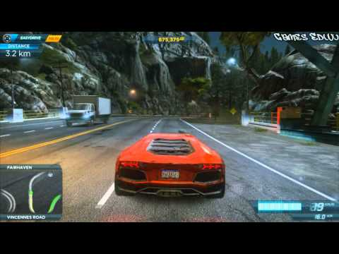 need for speed most wanted 2012 nisan gtr tentando pega doovi. Black Bedroom Furniture Sets. Home Design Ideas