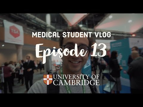 Speaking at a Medical Tech Conference - Cambridge University medical student VLOG #13