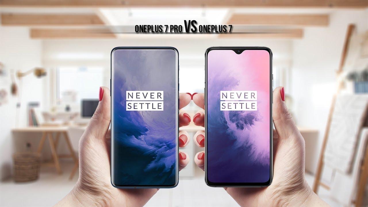 OnePlus 7 Pro Vs OnePlus 7 Specs, Price Comparison
