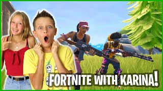 Gambar cover PLAYING FORTNITE WITH KARINA IN SEASON X!