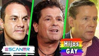 ELLOS SON los HIJOS GAY de éstos FAMOSOS ¿ REALMENTE los ACEPTAN?