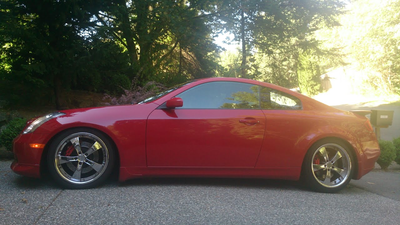 2005 g35 coupe horsepower