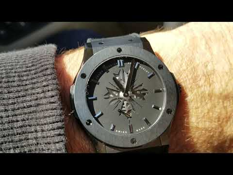 Hublot Classic Fusion 45mm All Black Ultra-thin Shawn Carter
