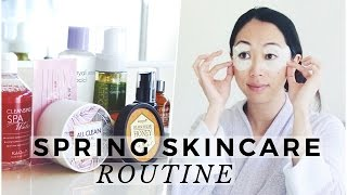 Spring Skincare Routine 2017, spring skincare, kbeauty, korean skincare, skincare