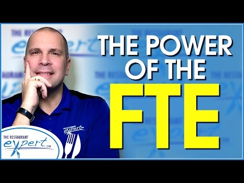 Restaurant Management Tip - How to Control Labor Cost with the FTE Formula #restaurantsystems