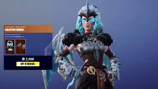 Fortnite Item Shop Update 9/21/18 - NEW BATTLE CALL EMOTE, DANCE THERAPY, VALKYRIE