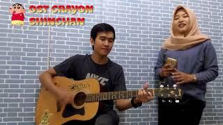 Video OST Crayon Shinchan (Cover) UNPLUGGED Version download MP3, 3GP, MP4, WEBM, AVI, FLV Agustus 2018