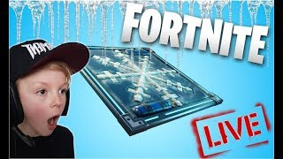 NEW CHILLY FREEZE TRAPS FORTNITE BATTLE ROYALE // CONSOLE PLAYER // FAMILY FRIENDLY LIVE STREAM