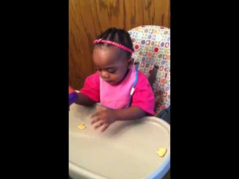 Brooklynn Smith (18 months) Counting & Spelling Her Name