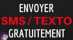 Envoyer SMS GRATUIT, comment envoyer un SMS gratuit sans CREDIT et SANS inscription