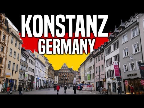 Konstanz, Germany City Tour!!