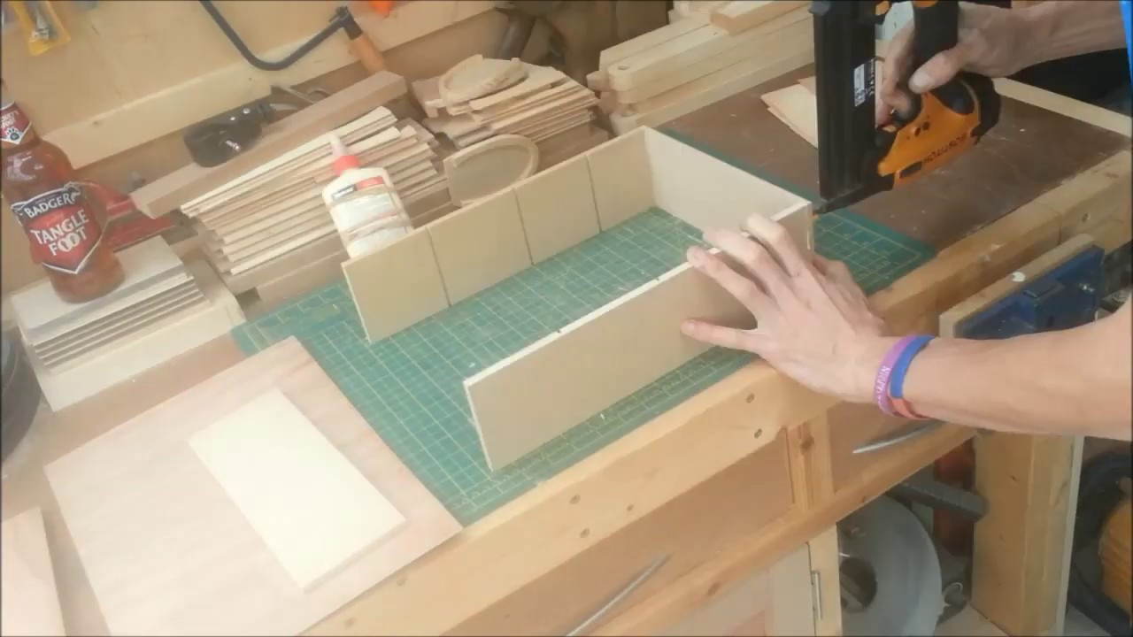 YouTube Premium & Build Simple: 5 minute workshop Storage boxes from scrap with top ...